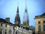Lovely Chalons with the spires of it's ancient church of Notre Dame.