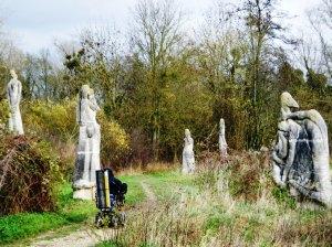 A totally delightful surprise find, the sculptures at Jardin des sculptures de la Dhuys, not far from Lagny.