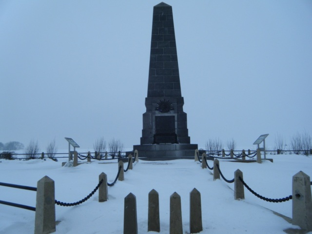 Australian Third Division memorial near Sailly–le–Sec.