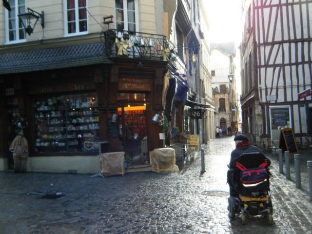 Exploring the city of Rouen - a delight.