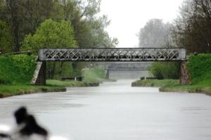 Bridges along the Roanne a Digoin canal.