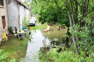 Flood at Monceaux.