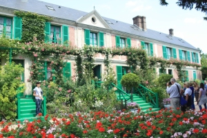 Monet's house and gardens at Giverny, near Vernon.