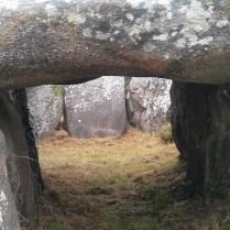 A dolmen.