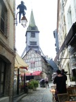 Saint Catherine's church clock tower, Honfleur.