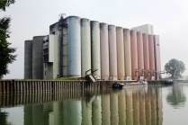 Vast silos soon after Soissons.