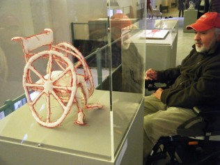 Armelle Blary's 'Wheelchair' - something Stewart strongly related to he said.