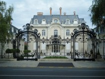 Chateau at Reims - one of the many Champagne houses.