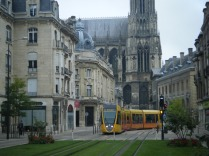 Excellent trams in Reims.