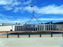Australian Parliament House, Canberra.