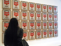 MoMA Campbell Soup by Warhol