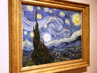 MoMA Starry Night Van Gogh