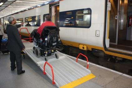 The best way to travel: Eurostar.