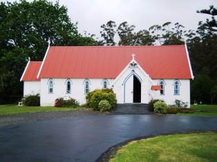 St James church at KeriKeri