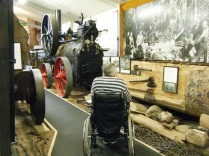 The huge Kauri Museum, at Matakohe, Kaipara Harbour.