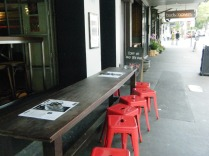 Streetside cafes of Surry Hills.