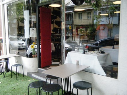 Surry Hills streetside cafes.