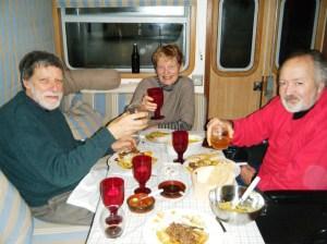 Charles, Judy and Stewart.